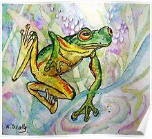Joy - Frog 1 Poster