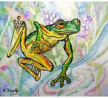 Joy - Frog 1 Photographic Print