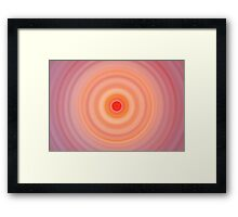 I'm so dizzy my head's in a spin... Framed Print