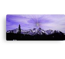 Supernova Sunshine Canvas Print