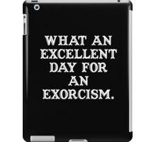 The Exorcist (white) iPad Case/Skin