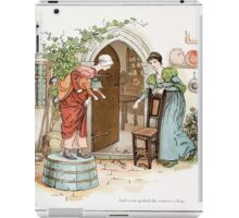 The Pied Piper of Hamlin Robert Browning art Kate Greenaway 0013 Spoiled Women's Chats iPad Case/Skin