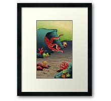 Octopus's Garden Framed Print