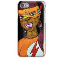 Flash Girl iPhone Case/Skin