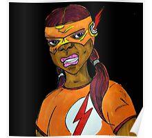 Flash Girl Poster