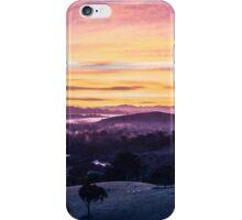 Sunrise over Goulburn River, Australia iPhone Case/Skin