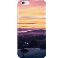 Sunrise over Goulburn River, Australia iPhone Case/Skin