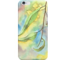 Gum Leaves with blossoms iPhone Case/Skin