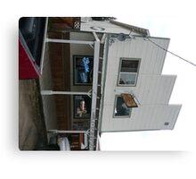 Harley's Pub & Spirits, Idaho City. Canvas Print