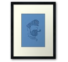 Aye Framed Print