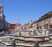 Piazza Navona by hjaynefoster