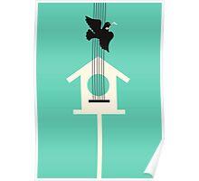 A bird stole my song Poster