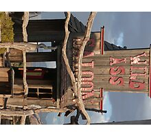 Wild Ass Saloon. Photographic Print