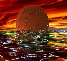 Fractal Sunrise by Tarnee