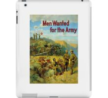 Men Wanted For The Army iPad Case/Skin