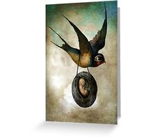 Precious flight Greeting Card