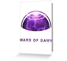 Destiny - Ward of Dawn Greeting Card