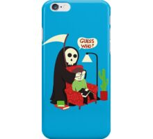 Guess Who iPhone Case/Skin