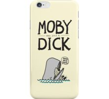 Moby (was such a) Dick iPhone Case/Skin