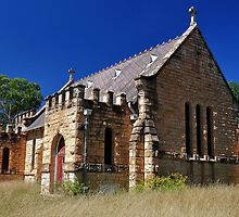 St Lukes Anglican Church - Wollar NSW Australia by Bev Woodman