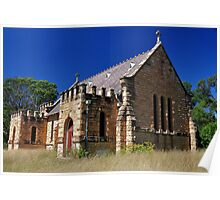 St Lukes Anglican Church - Wollar NSW Australia Poster
