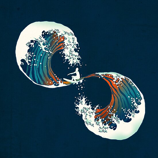 the wave is forever by Budi Kwan