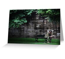 War and Peace Greeting Card