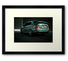 Hyundai 01 Framed Print