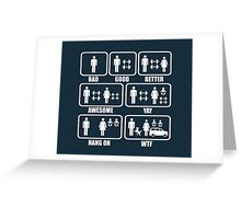 Funny Weightlifting Shirt Greeting Card