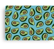 AVOCADO - BLUE Canvas Print