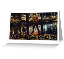 """Max Devereaux """"Milwaukee River"""" T Shirt And Poster Greeting Card"""