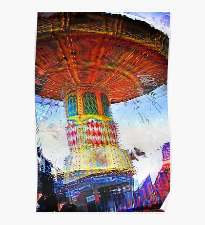 Easter Show Rides Poster