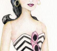 Barbie 2 Vintage Style Sticker