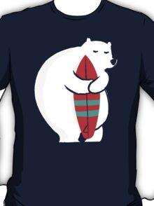 Surfing Polar Bear T-Shirt