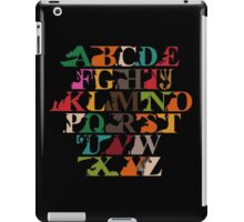 Alphabet zoo iPad Case/Skin