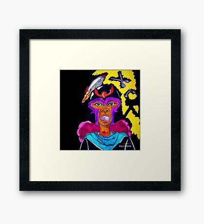Ms. Magneto Framed Print