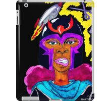 Ms. Magneto iPad Case/Skin