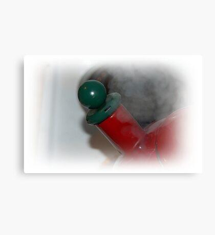 Teapot Steaming Canvas Print