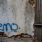 An Emotional Graffiti: Old Town Antalya, Turkey by Josh Wentz