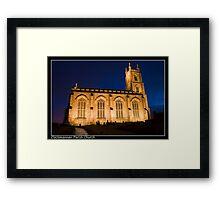 Clackmannan parish church Framed Print