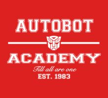 Autobot Academy (White) by TheSassmaster