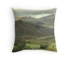 Upper Eskdale...Another View Throw Pillow