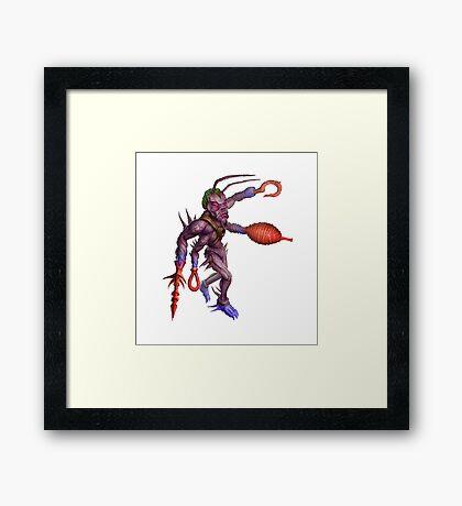 Formian Ant Alien Cyborg Framed Print