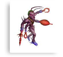Formian Ant Alien Cyborg Canvas Print