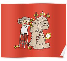 Wookie is a wonderful friend Poster