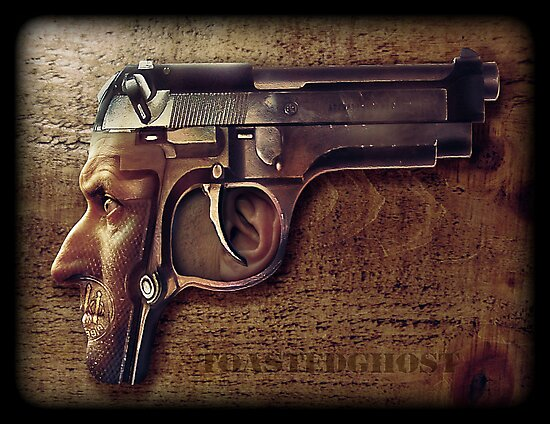 Gunman by ToastedGhost