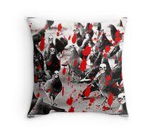 Avian Danger Throw Pillow
