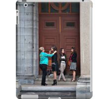 Touch-up iPad Case/Skin