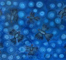 Twilight Birds by Julie  Sutherland