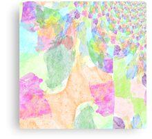 Colorful Explosion Fractal Canvas Print